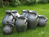 Ceramika siwa ręcznie robiona