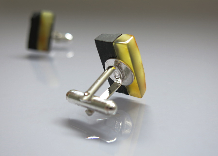 amber products - functional fastening of cuff links