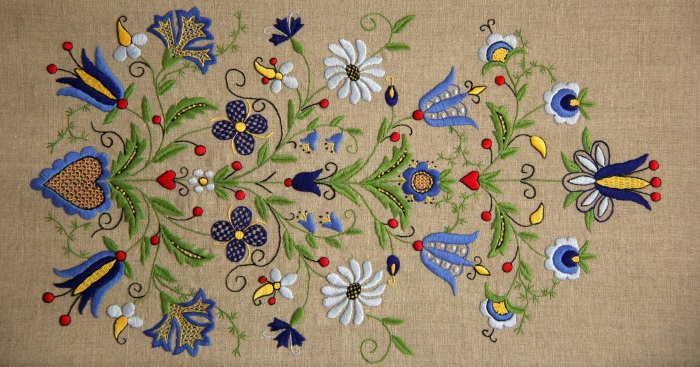 Kashubian embroidery_My Poland