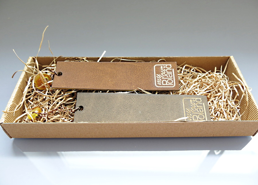 amber products - bookmarks, packed in an elegant box