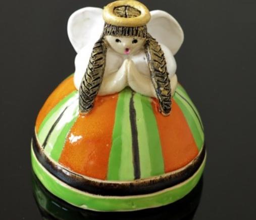MyPoland_handicraft_ceramika_anioł